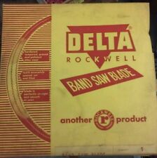 Vintage Delta Rockwell  Wood Cutting Band Saw Blade  (105 x 3/4)