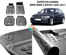BMW SERIE 3 E90 E91 2004-2011 TAPPETINI AUTO IN GOMMA - TAPPETI TOP QUALITA -1