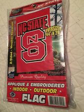 """NCAA North Carolina State Indoor Outdoor Banner Scroll , 44"""" X 28"""" Reduced"""