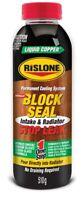 Rislone Liquid Copper Block Seal Intake Radiator Permanent Cooling System Repair