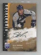 2007-08 BAP Be a Player Signatures Auto She Weber 7/15 Nashville predators S-WE