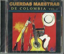 Cuerdas Maestras De Colombia Volume 1 Latin Music CD New