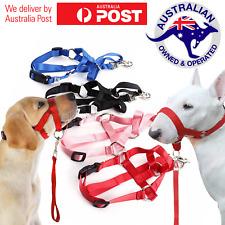Gentle Dog Puppy Head Harness Leader No Pull Halter Halti Face Leash Lead Collar