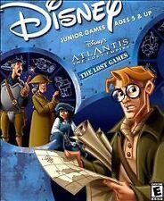 Disney's Atlantis The Lost Empire -The Lost Games (Win/Mac, 2001)