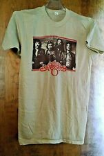 Oak Ridge Boys Tee Shirt Tan Short Sleeve Vintage 1980'S Tour Large 42 44 Guc.
