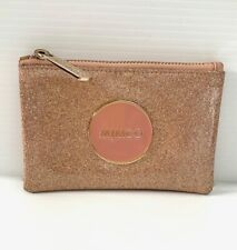 MIMCO rose gold shimmer wallet/pouch