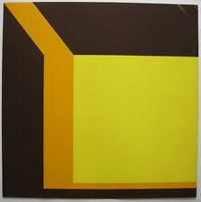 Georg K. PFAHLER (1926-2002) Abstraction géométrique ORIG SERIGRAFIE 1969 sign