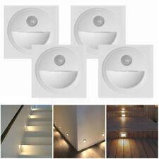 4er Set LED Treppenbeleuchtung Wand-Einbauleuchte Stufenleuchte Treppenlicht