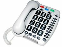 Geemarc AMPLIPOWER 50 - Extra Loud 60 dB Big Button Corded Telephone- UK Vers...