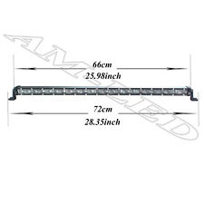 """25"""" CREE LED Light Bar Spot Beam Offroad 4WD Wirings For 07-13 Toyota Tundra 4WD"""