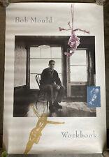 Original Bob Mould - Workbook Promo Poster Virgin Records - Hüsker Dü