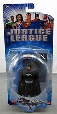 "DC Justice League Animated Series 4.75"" Dark Suit Batman Figure Mattel NIB 2003"