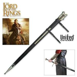 """Lord of the Rings Scabbard for King Elessar Anduril 41"""" Sword United Cutlery"""