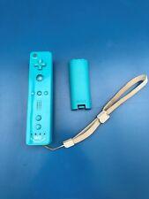 Manette Wii U Wiimote Bleue Officielle TBE Fonctionne Avec Cache Pile PAL