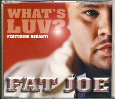 FAT JOE - what's luv  4 trk MAXI CD VIDEO 2002