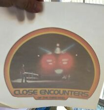 Vintage & Original 70's Close Encounters of the Third Kind T-Shirt Transfer