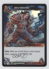 2013 World of Warcraft TCG: Caverns Time Treasure Pack Box #39 Alex Iskandar 0y9