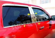 2009-17 Dodge Ram Crew Cab Pillar Post+Window Sill Trim Combo 12 13 14 15 16 17