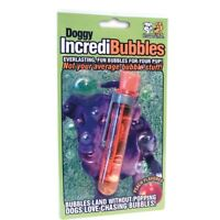 Everlasting Bubbles For Dogs - Pet Qwerks Doggy Incredi Toy Puppy Peach