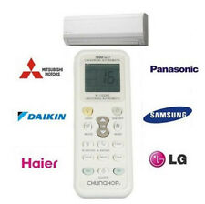 Universal Samsung Panasonic Fujitsu LG Gree Air Conditioner A/C Remote Control