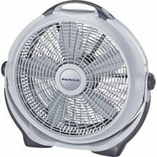 Machine Wind Air Circulator 20 Lasko Gray A20301 Fan New Cooling Desk Floor New