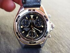 Vintage SECTOR 700 SGE Very rear Great Condition , Black Chronograph .
