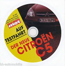 Citroën Citroen C5 CD a.d. Zeitschrift mot 2001 Test Auto PKWs Frankreich Europa