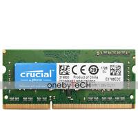 Crucial 2GB DDR3L-1600 SODIMM 1.35v  PC3L-12800 204pin Sodimm Laptop Memory