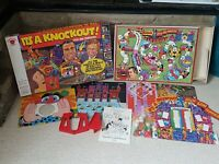It's A Knockout Vintage TV Board Game BBC Retro Strawberry Fayre Denys Fisher