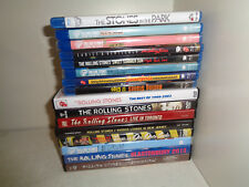 LOTTO 15 DVD E BLU-RAY--ROLLING STONES-LIVE TORONTO-17 CLIPS-L A FORUM-TERRIFYNG
