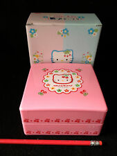 NIB~ Hello Kitty Lunch Box(obento)two layer stackable from Japan-ship free