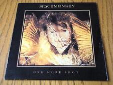 """SPACE MONKEY - ONE MORE SHOT  7"""" VINYL PS"""