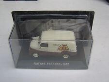 MODELLINO: FURGONE FIAT 615 - FERRERO - 1952 - SCALA 1/43 - SCATOLA ORIGINNALE
