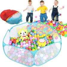 120*39cm Faltbare Bällebad Spielzelt Kinderzelt Spielhaus Ball Haus + Tasche