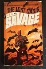 DOC SAVAGE #6 BANTAM 7524 THE LOST OASIS KENNETH ROBESON BAMA CVR VG+ 4th
