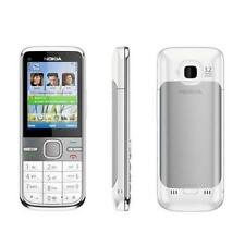 NOKIA C5-00 WHITE 5.0MP GSM BLUETOOTH HSDPA POPULAR 3G UNLOCKED SMARTPHONE