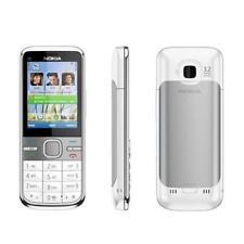 NOKIA C5-00 WHITE 5.0MP GSM BLUETOOTH HSDPA POPULAR 3G UNLOCKED SMARTPHONE