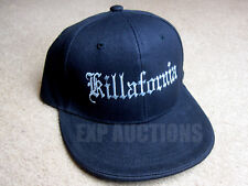 "cdd98eb011a ""Killafornia"" Hat Cap - Gangsta - Los Angeles - Lowrider - Rat Rod -"