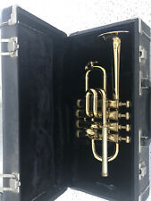 Selmer Piccolo Trumpet B-flat/A in Lacquered Yellow Brass