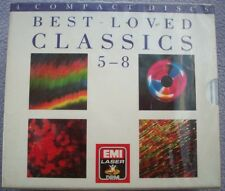 BEST LOVED CLASSICS 5 - 8 EMI Laser DRM 1980s NEW SEALED 4 x CD Classical Music