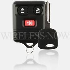 Car Remote Keyless Entry For 1999 200 2001 2002 2003 Ford F-250 Super Duty + Key