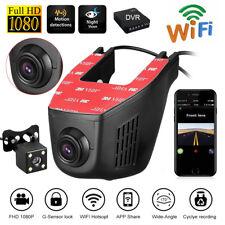 Monitor de HD 1080 p WiFi Cámara oculta CAMARA DVR metralleta Parque vehículo sensor G