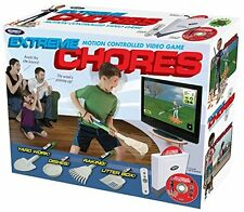 Extreme Chores Prank Gag Joke Large Gift Box for The Video Game Lover Christmas