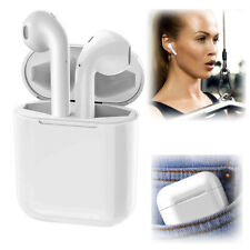 Auriculares intraurales Auriculares Estéreo Bluetooth para iPhone XS Max 8 7 6S 5S Samsung