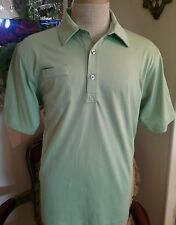 New Lime Green Ashworth Golf Shirt Size Medium,Polo,Casual,Cotton ,Top,Cotton