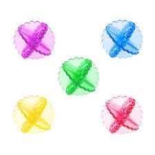 5 un. Reutilizable Ropa Lavadora bolas de secado en secadora ropa Suavizante