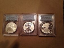 2006-W PCGS 20th Anniversary Silver Eagle Set