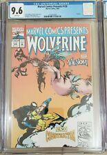 Marvel Comics Presents #120 (1993) CGC 9.6 White Pages  Wolverine Venom 🔥🔥