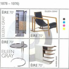 Ireland Eileen Gray-Furniture-Art mnh set 2016