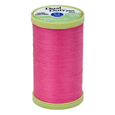 S960-1840~COATS & CLARK COTTON WRAPPED POLY HAND QUILTING THREAD~HOT PINK~325YDS